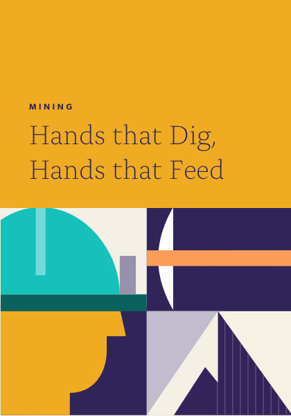 Hands that dig, hands that feed